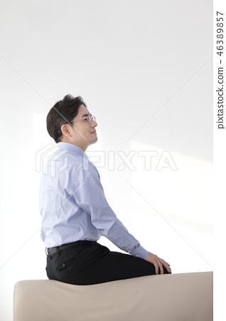 한국인,비즈니스,남자 46389857
