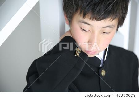 졸업식 입학식 46390078