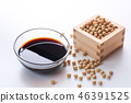 Soy and soybeans 46391525