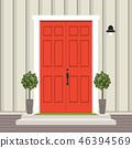 facade, door, house 46394569