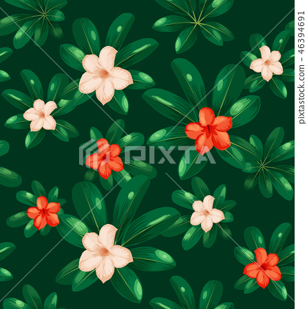 Seamless floral pattern8 46394691