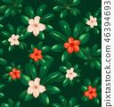แบบ,ดอกไม้,ไร้รอยต่อ 46394693