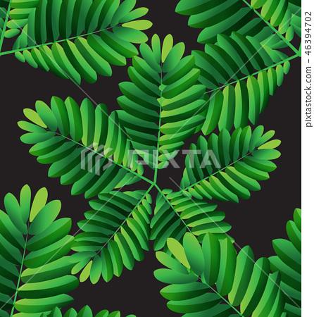 tropical plant pattern8 46394702