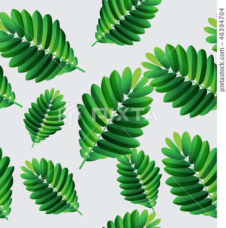 tropical plant pattern6 46394704