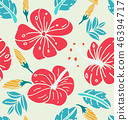 Floral seamless  pattern2 46394717