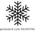 雪花(單色) 46394796