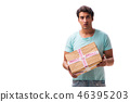 box man internet 46395203