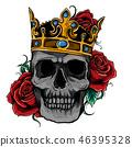 crown skull king 46395328