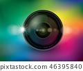 Camera lens, Illustration Vector 10 46395840