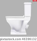 Ceramic toilet classic model 46396132