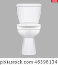 Ceramic toilet classic model 46396134