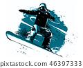 snowboard, board, snow 46397333