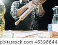 flour, cooking, dough 46398644