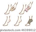 발 뒤꿈치 케어 46399012