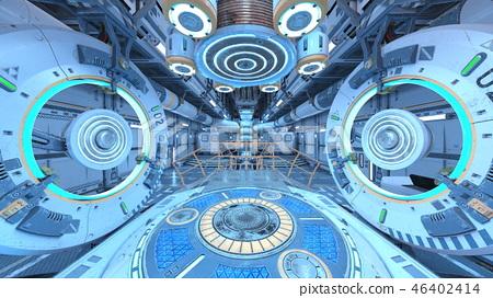 우주선 내부 46402414