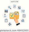 audit vector concept 46402605