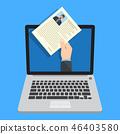 Human resources, online job application 46403580
