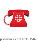phone, telephone, icon 46403582