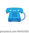 phone, telephone, icon 46403583