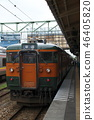 Echigo Line 115 series (Shonan color) near the end 46405820