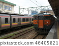 Echigo Line 115 series (Shonan color) near the end 46405821