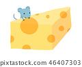 瑞士乾酪奶酪草莓/鼠標 46407303