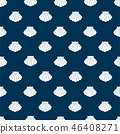 Seashell pattern-seamless 46408271