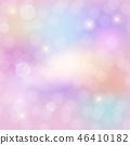 Abstract Rainbow sky fantasy background 46410182