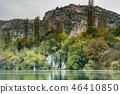 Roski Waterfall in Krka National Park,Croatia 46410850