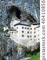 Famous Predjama castle in the mountain 46410856