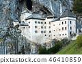 Famous Predjama castle in the mountain 46410859
