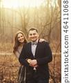 Portrait couple smiling 46411068