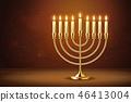 candle, menorah, candlestick 46413004
