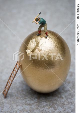 모형,황금알 46416035