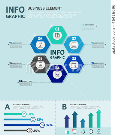 Business infographic 46416096