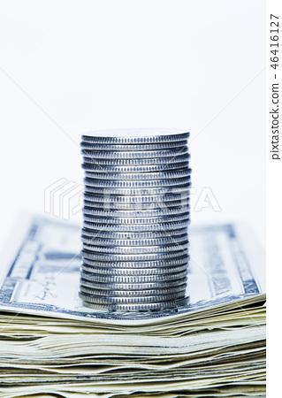 동전,지폐 46416127