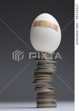雞蛋,硬幣 46416227