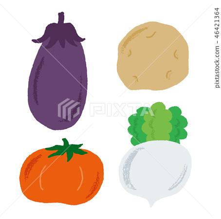 Vegetable set 46421364