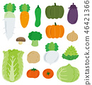 Vegetable set 46421366