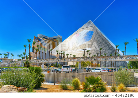 Main street of Las Vegas is the Strip.  46422190