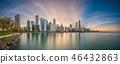 Chicago, Illinois, USA Lake Skyline 46432863