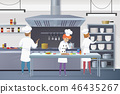 Culinary Concept Illustration Restaurant Business 46435267
