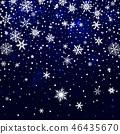 winter, background, blue 46435670