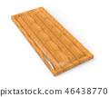3d rendering kitchen door furniture of wood 46438770