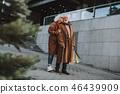 couple, woman, man 46439909