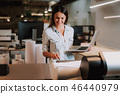 office woman laptop 46440979