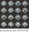 icon vector set 46441065