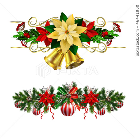 Christmas elements for your designs 46441960