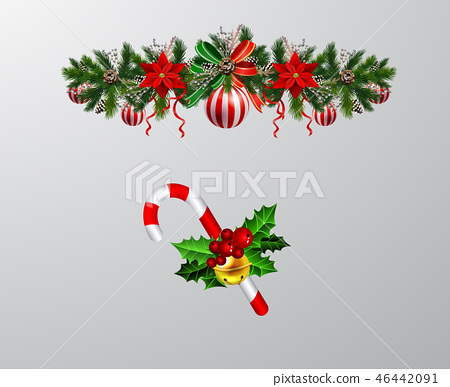 Christmas elements for your designs 46442091
