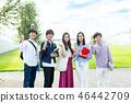 年輕女性,大學生,專業學生 46442709